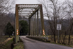 Little Sandy River Bridge - Eastern Kentucky Railroad, Kentucky Stock Image