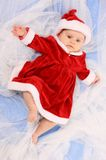Little Santa. Stock Photo