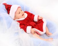 Little Santa. Stock Photography