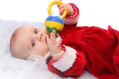 Little Santa. Royalty Free Stock Photography