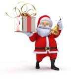 Little santa Stock Image