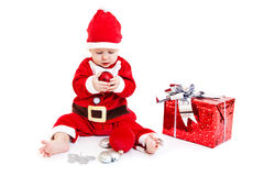 Little Santa Royalty Free Stock Photos