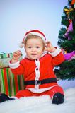 Little Santa Royalty Free Stock Photography