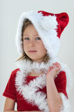 Little Santa royalty free stock photo