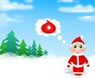 Little Santa Royalty Free Stock Photos