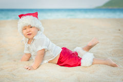 Little Santa Royalty Free Stock Image