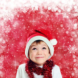 Little Santa Stock Images