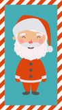 Little Santa. Christmas and New card. Little Santa. Christmas and New year card. EPS 10 file, easy to editable Royalty Free Stock Photography