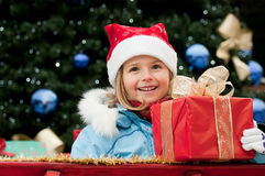 Little Santa Claus Royalty Free Stock Photos