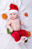 Little Santa Claus. Royalty Free Stock Image
