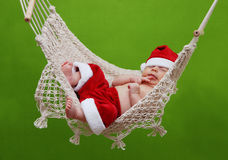 Little Santa Claus Stock Photos