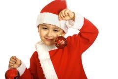 Little Santa Claus Stock Image