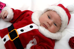 Little Santa Claus Royalty Free Stock Photo