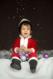 Little Santa Claus Royalty Free Stock Photography