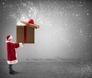 Little Santa Claus Stock Photography