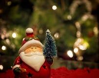 Little Santa horizontal Royalty Free Stock Photos