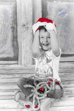 Little Santa stock images