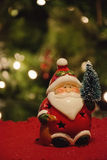 Little Santa vertical Royalty Free Stock Images