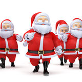Little santas Stock Image
