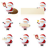 Little Santas Royalty Free Stock Photos