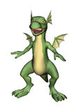 Little Scary Dragon Stock Photography