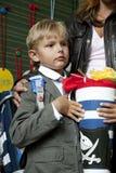 Little school boy Stock Photos