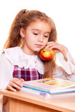 Little School Girl Royalty Free Stock Photography