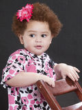 Little school girl Royalty Free Stock Photo