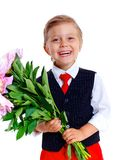 Little schoolboy Royalty Free Stock Photo