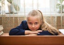 Little schoolgir Stock Image