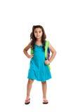 Little schoolgirl Stock Photo