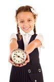 Little schoolgirl Stock Photography