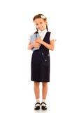 Little schoolgirl Stock Image