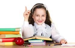 Little schoolgirl Royalty Free Stock Photography