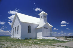 Little schoolhouse. And church on the prairie, Branson, CO Stock Photography