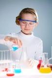 Little scientist Stock Images