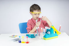 Little scientist Royalty Free Stock Image