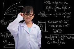 Little scientist Stock Photos