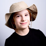 Little scout royalty free stock image
