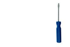 Little screwdriver blue Stock Photo