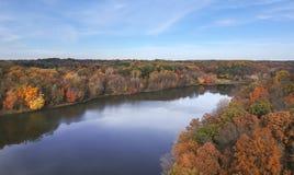 Little Seneca Lake at Black Hill Reginal Park. Part of Clarksburg - Maryland, USA stock images