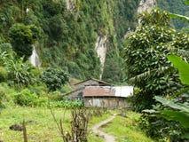 Little settlement in Nepal Stock Images