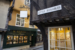 Little Shambles in York Royalty Free Stock Photography