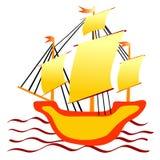 Little ship Royalty Free Stock Photo