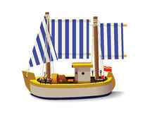 Little Ship Royalty Free Stock Photo