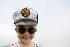 Little ship boy Royalty Free Stock Photo