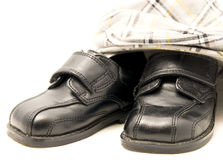Little Shoes and Hat Stock Photography