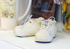 Little shoes Stock Photo