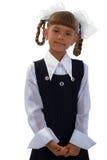 Little Shoolgirl Portrait. Stock Photography