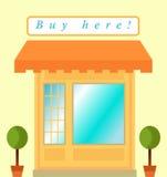 Little shop Stock Photo
